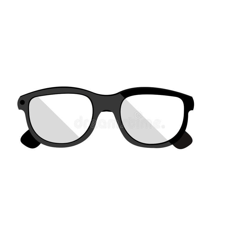 Βοηθητικό εικονίδιο γυαλιών ελεύθερη απεικόνιση δικαιώματος
