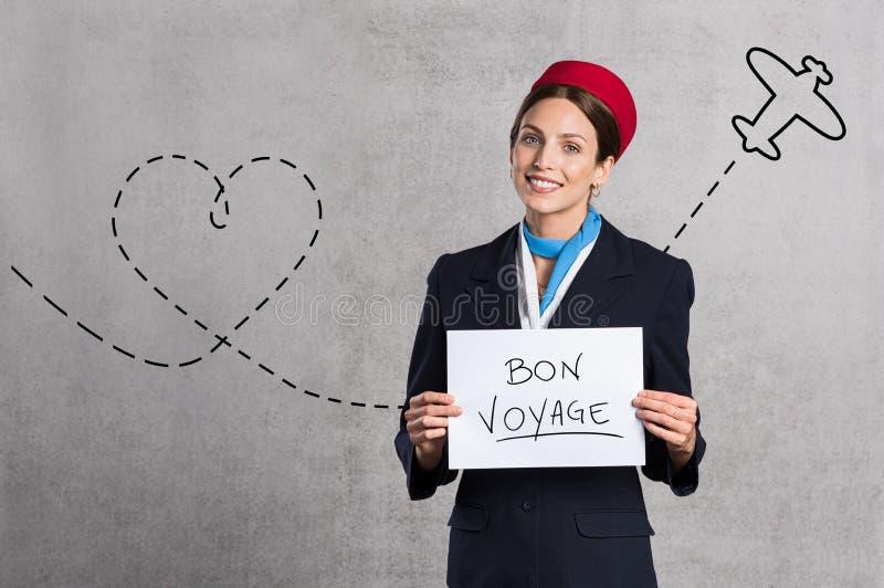 Βοηθητικό ταξίδι επιθυμίας Bon πτήσης στοκ εικόνες