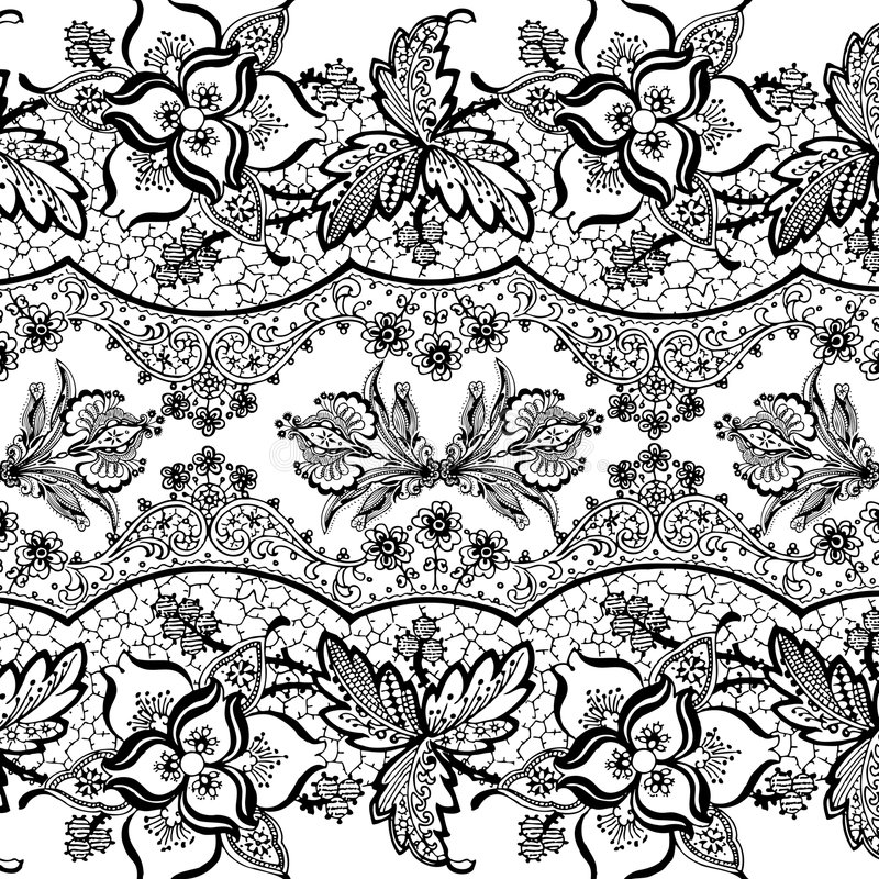 Βοημίας floral ύφος τσιγγάνων ανασκόπησης απεικόνιση αποθεμάτων