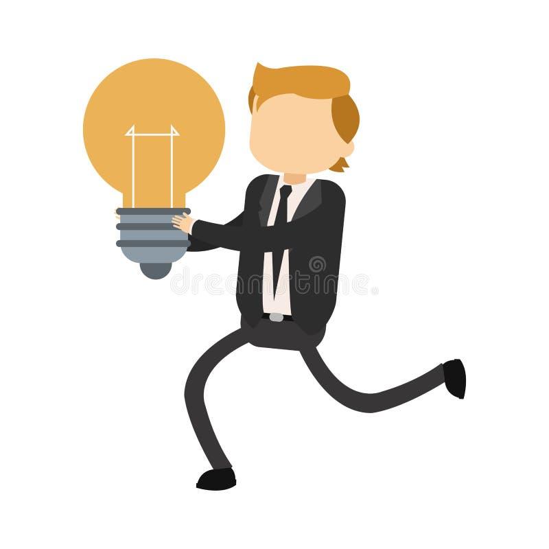 Βολβός εκμετάλλευσης επιχειρηματιών ελεύθερη απεικόνιση δικαιώματος