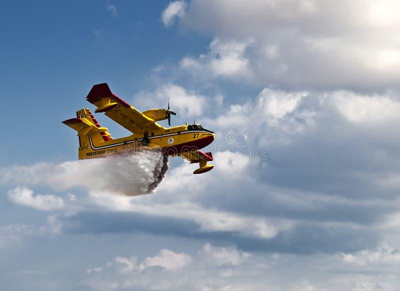 Βομβαρδιστικό 415 Superscooper στοκ φωτογραφίες με δικαίωμα ελεύθερης χρήσης