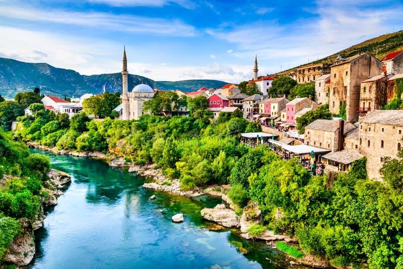 Βοσνία-Ερζεγοβίνη mostar στοκ εικόνες
