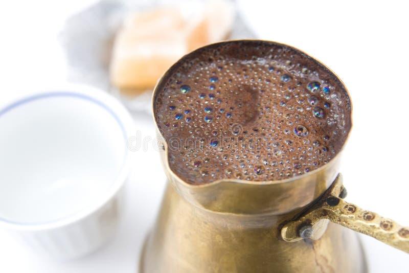 βοσνιακός καφές παραδο&sigma στοκ φωτογραφία