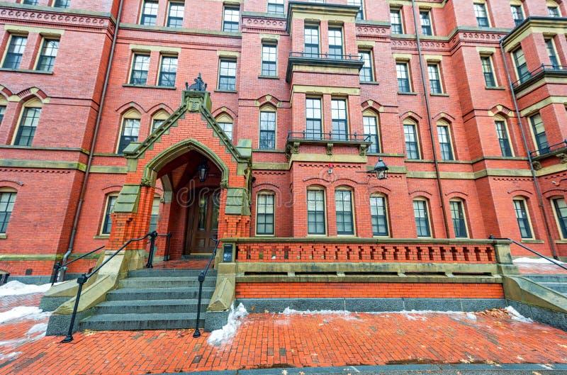 ΒΟΣΤΩΝΗ, ΜΑΣΑΧΟΥΣΕΤΗ - 6 ΙΑΝΟΥΑΡΊΟΥ 2014: Ναυπηγείο του Χάρβαρντ στη Βοστώνη Περιοχή Πανεπιστημίου του Χάρβαρντ στοκ εικόνες