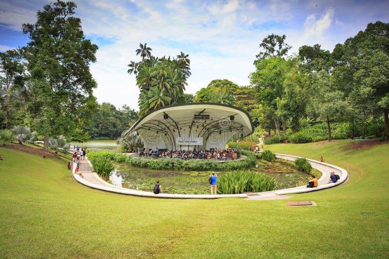 Βοτανικοί κήποι της Σιγκαπούρης στοκ εικόνα με δικαίωμα ελεύθερης χρήσης