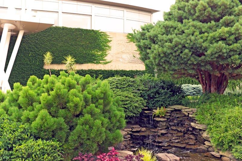 Βοτανικοί κήποι του Κλίβελαντ στο Κλίβελαντ, Οχάιο, ΗΠΑ στοκ φωτογραφία με δικαίωμα ελεύθερης χρήσης