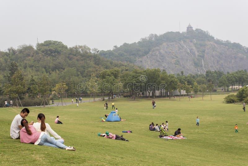 Βοτανικός κήπος της Shan Chen στη Σαγκάη στοκ εικόνες