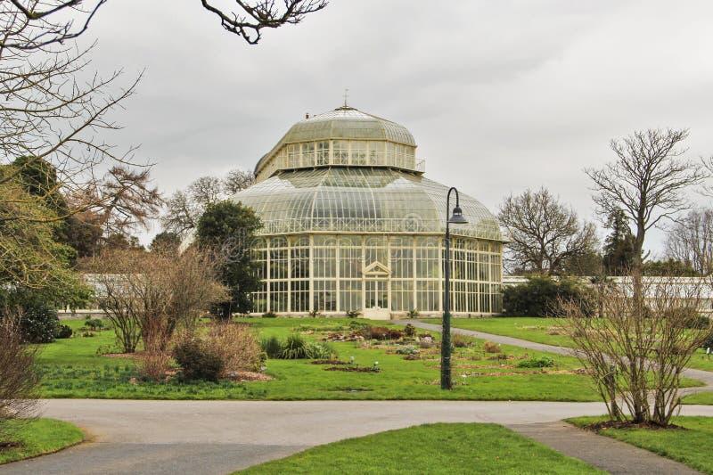Βοτανικός κήπος του Δουβλίνου στην Ιρλανδία στοκ εικόνες