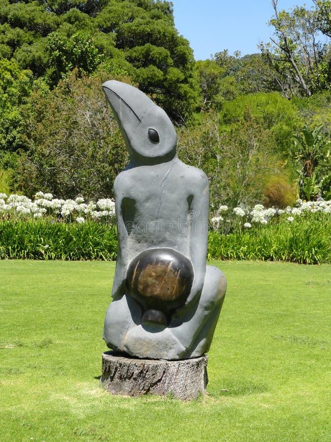 Βοτανικός πέτρινος κήπος γλυπτών Kirstenbosch στοκ εικόνες