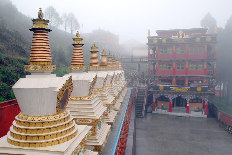 βουδισμός Ινδία στοκ εικόνες