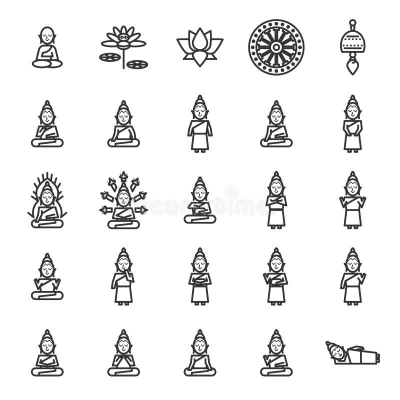 Βουδισμός και Ανατολική Θρησκεία απεικόνιση αποθεμάτων