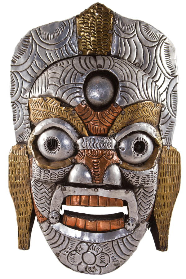 Download βουδιστική μάσκα στοκ εικόνα. εικόνα από ινδός, ιερός - 17058169