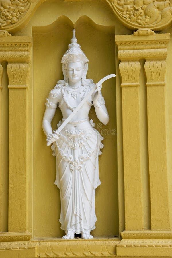 βουδιστικός ναός αγαλμά&ta στοκ φωτογραφίες με δικαίωμα ελεύθερης χρήσης