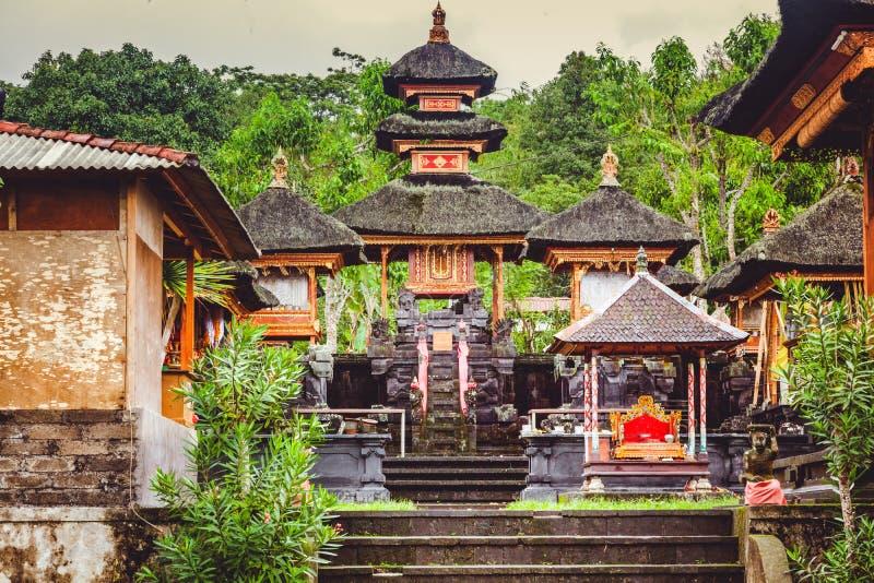 Βουδιστικός ναός στο νησί του Μπαλί, Ινδονησία, Pura Besakih στοκ εικόνα με δικαίωμα ελεύθερης χρήσης
