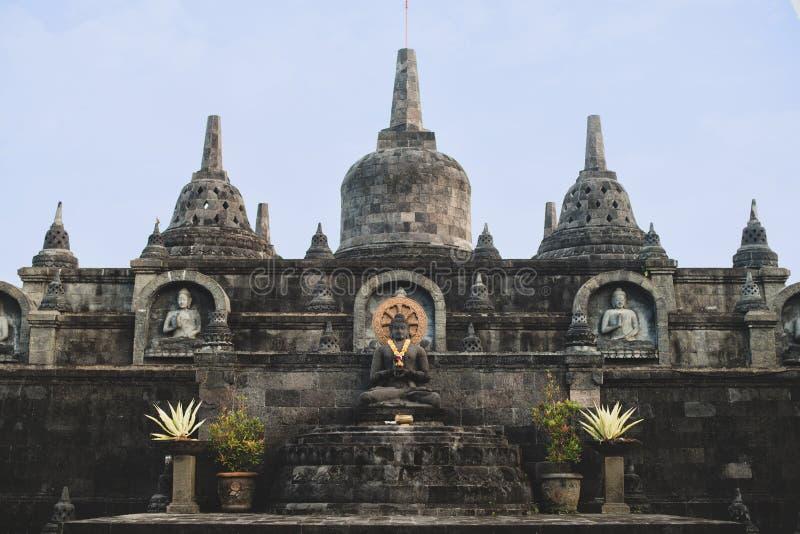 Βουδιστικός ναός Brahmavihara στο νησί Ινδονησία του Μπαλί στοκ εικόνες με δικαίωμα ελεύθερης χρήσης