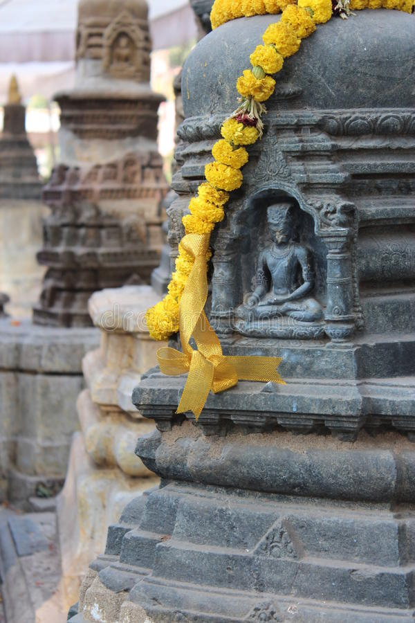 βουδιστικό μνημείο στοκ φωτογραφία