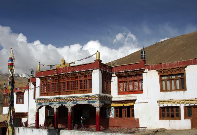 βουδιστικό μοναστήρι ladakh στοκ εικόνες με δικαίωμα ελεύθερης χρήσης