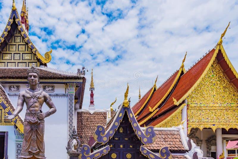 Βουδιστικό architcture ναών στοκ φωτογραφία με δικαίωμα ελεύθερης χρήσης