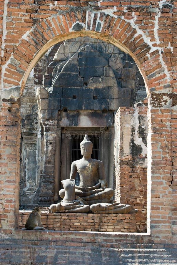 βουδιστικό staue στοκ φωτογραφίες