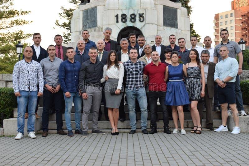 Βουλγαρικοί σπουδαστές στοκ φωτογραφίες με δικαίωμα ελεύθερης χρήσης
