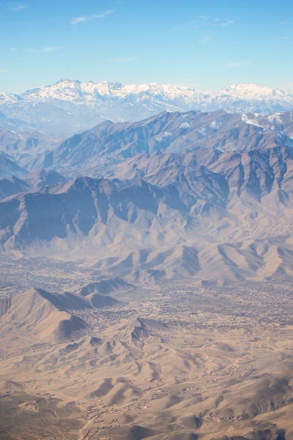 Βουνά γύρω από το Καμπούλ, Αφγανιστάν στοκ εικόνες με δικαίωμα ελεύθερης χρήσης