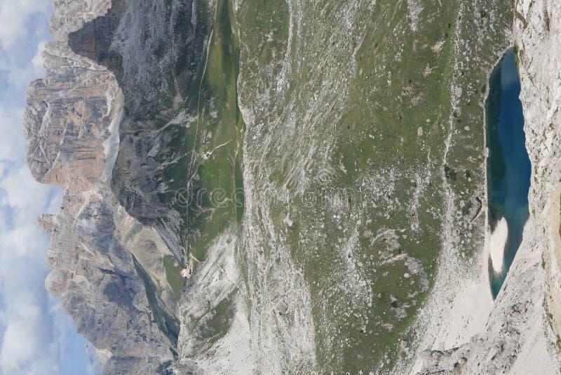 βουνά δολομίτη στοκ φωτογραφία