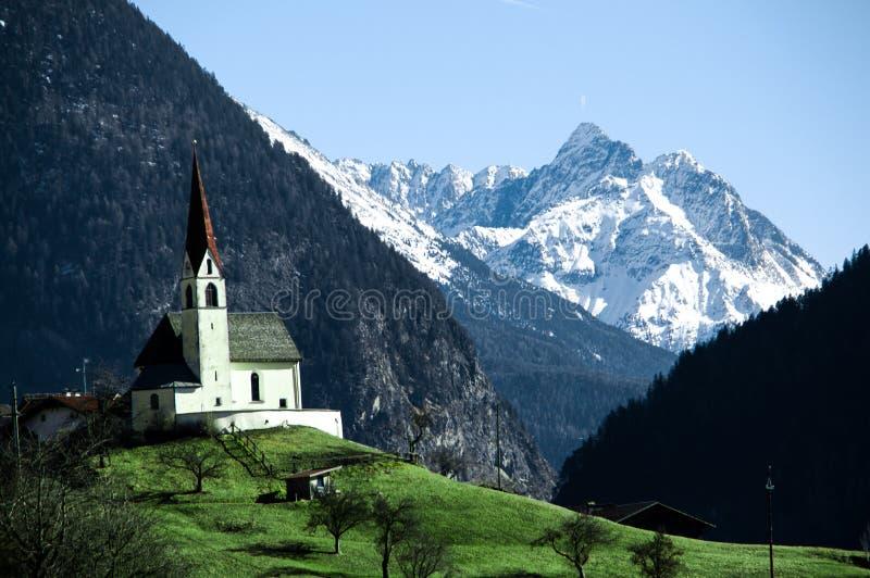 βουνά εκκλησιών στοκ εικόνες με δικαίωμα ελεύθερης χρήσης