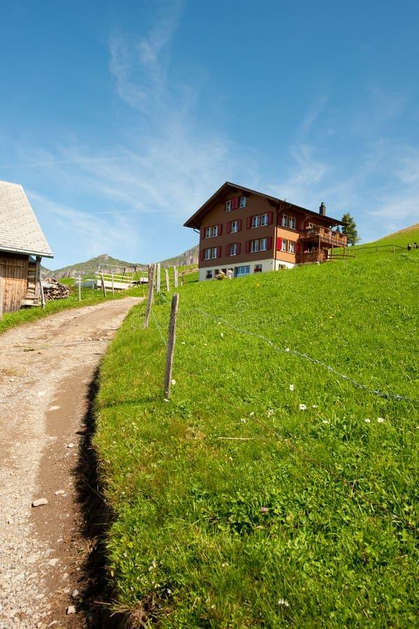 βουνά Ελβετία στοκ φωτογραφίες