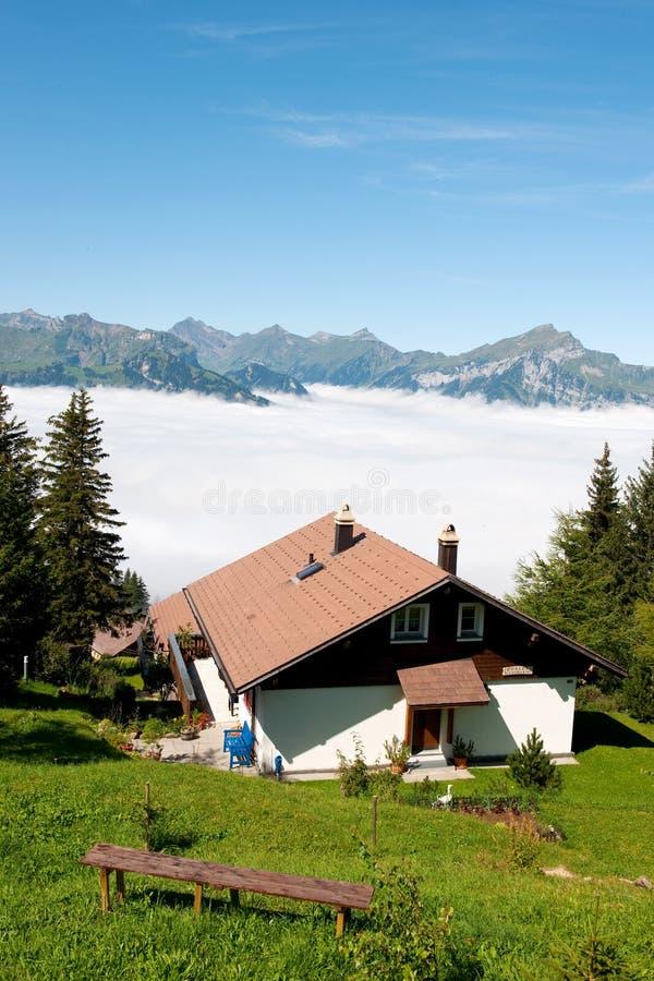 βουνά Ελβετία στοκ εικόνες