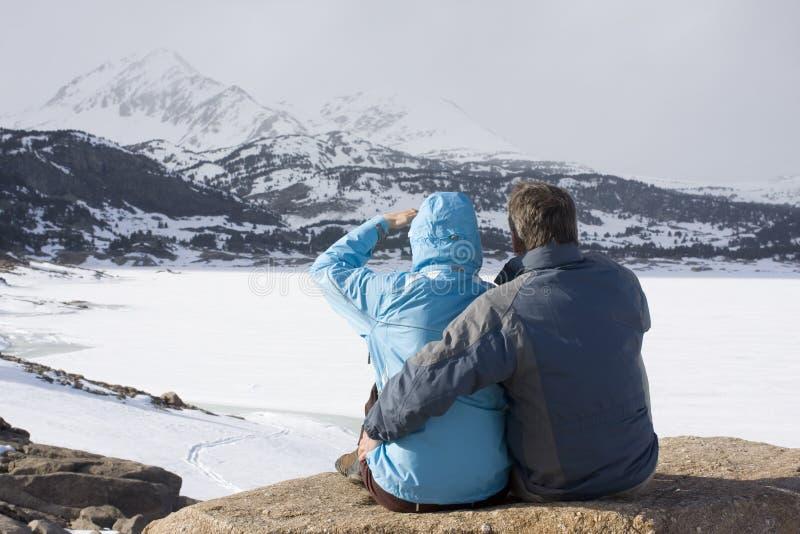 βουνά ζευγών στοκ φωτογραφία με δικαίωμα ελεύθερης χρήσης