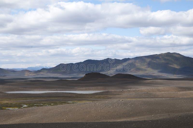 Βουνά και έρημοι λάβας στην Ισλανδία στοκ εικόνες με δικαίωμα ελεύθερης χρήσης