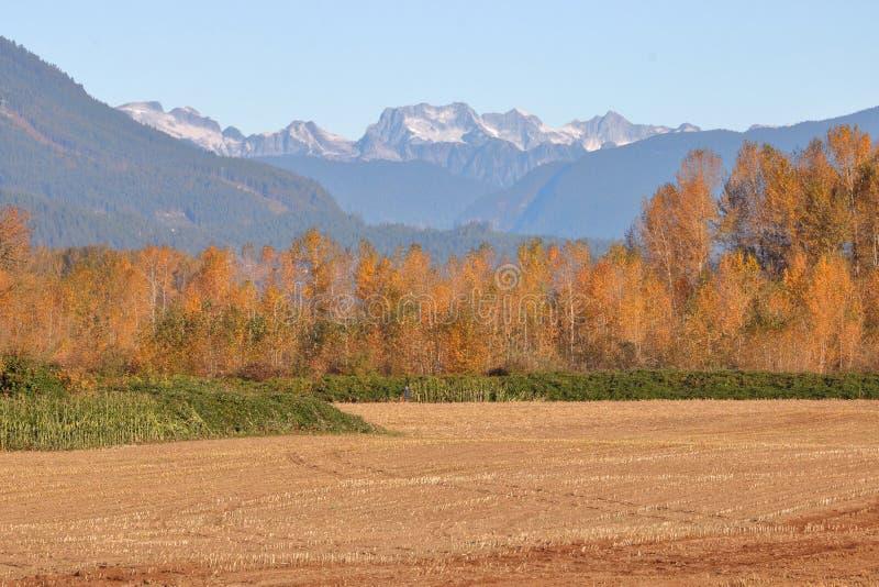 Βουνά και αγροτική γη βόρειων ακτών στοκ φωτογραφίες με δικαίωμα ελεύθερης χρήσης