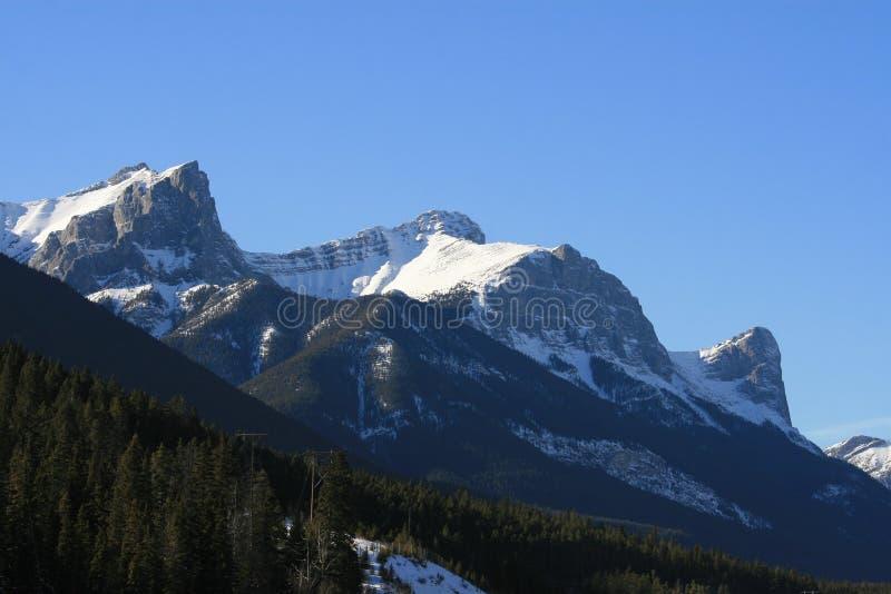 βουνά μεγαλειότητας το&ups στοκ φωτογραφία
