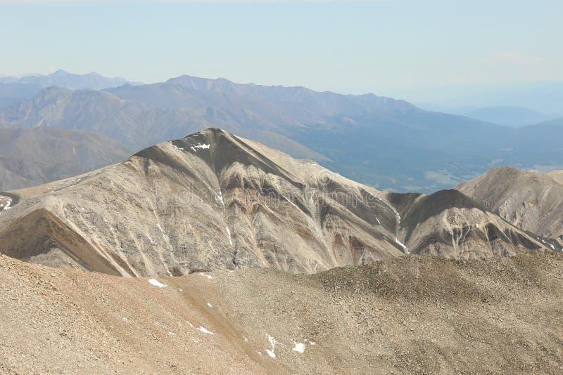 βουνά ριγωτά στοκ εικόνες με δικαίωμα ελεύθερης χρήσης