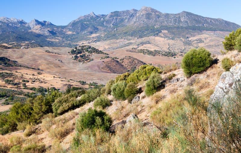 Βουνά σε γοητευτική Ανδαλουσία στοκ φωτογραφία με δικαίωμα ελεύθερης χρήσης