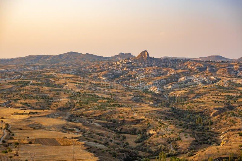 Βουνά σε Cappadocia στοκ εικόνες