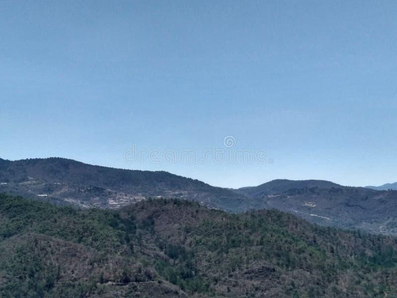 Βουνά σε Oaxaca Μεξικό στοκ φωτογραφία