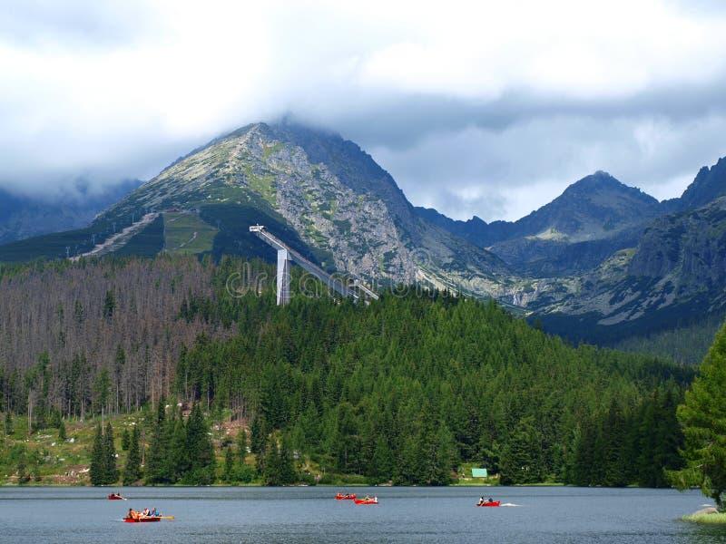 βουνά Σλοβακία τοπίων στοκ εικόνα