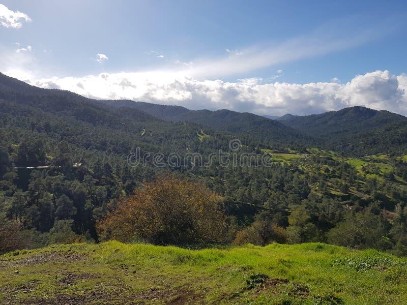 Βουνά στη Κύπρο στοκ φωτογραφίες με δικαίωμα ελεύθερης χρήσης