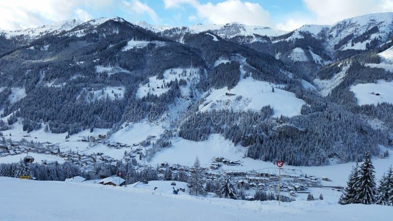 Βουνά στις Άλπεις στοκ εικόνες