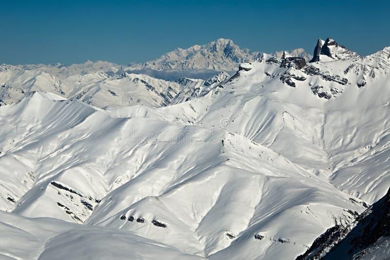Βουνά στις Άλπεις στοκ εικόνες με δικαίωμα ελεύθερης χρήσης