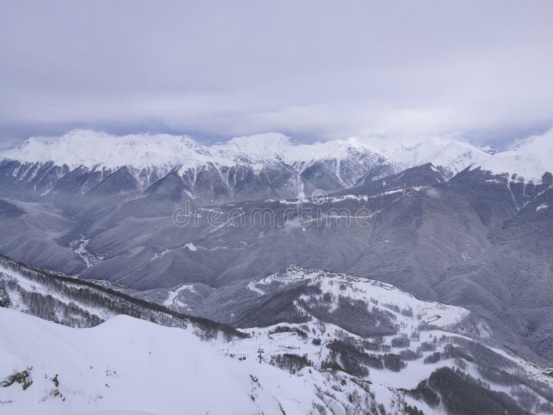Βουνά στο Sochi στοκ εικόνα