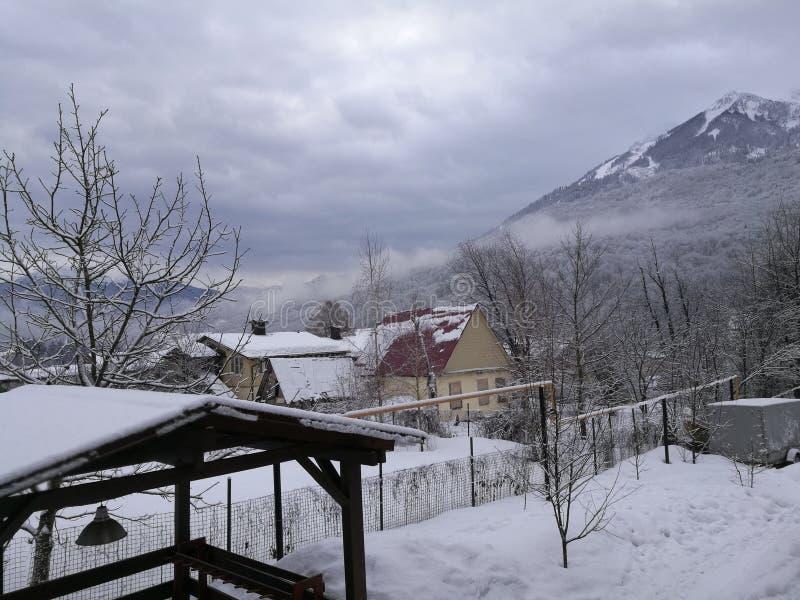 Βουνά στο Sochi στοκ εικόνα με δικαίωμα ελεύθερης χρήσης