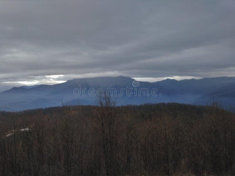 Βουνά Τένεσι Smokey στοκ φωτογραφία με δικαίωμα ελεύθερης χρήσης