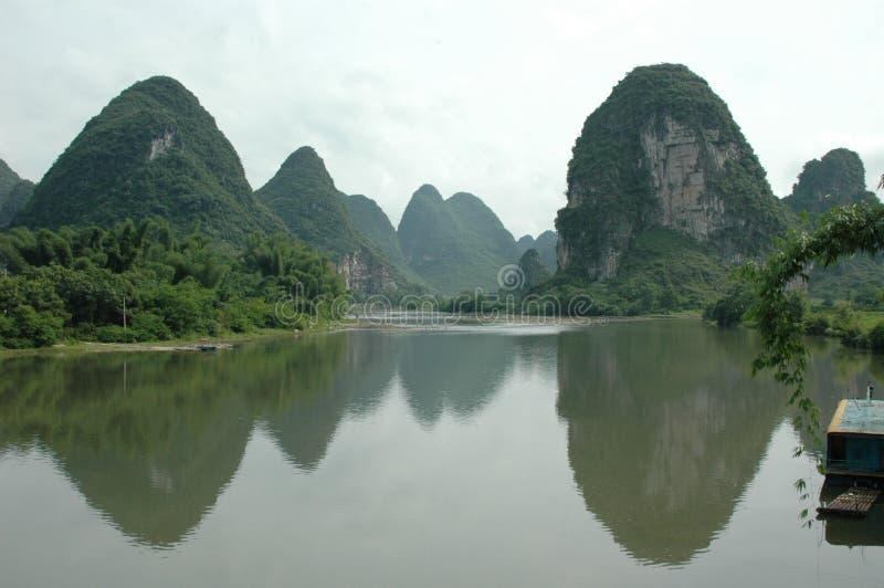 βουνά της Κίνας στοκ φωτογραφία με δικαίωμα ελεύθερης χρήσης