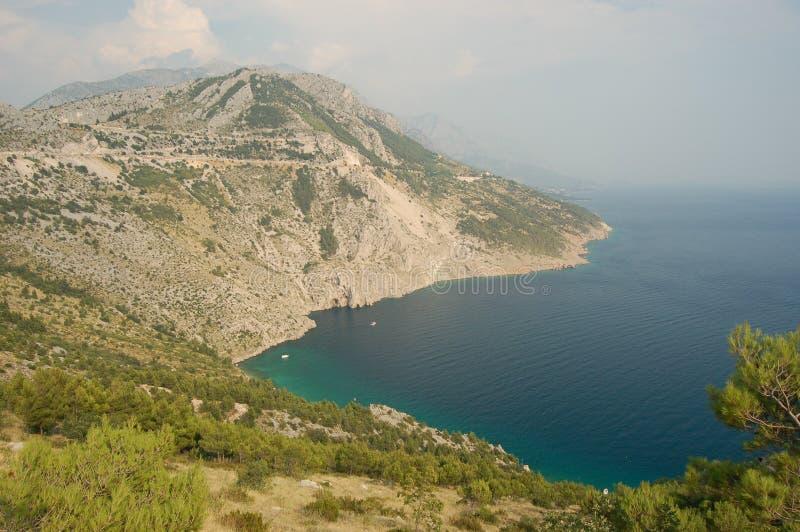 βουνά της Κροατίας pisak πλησί στοκ εικόνες με δικαίωμα ελεύθερης χρήσης
