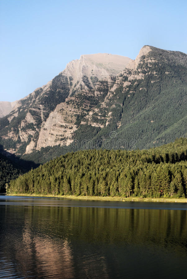 βουνά της Μοντάνα στοκ φωτογραφία