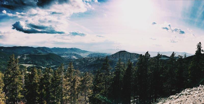 Βουνά της Μοντάνα στοκ φωτογραφίες με δικαίωμα ελεύθερης χρήσης