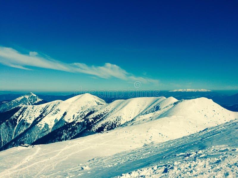 Βουνά της Σλοβακίας στοκ εικόνα