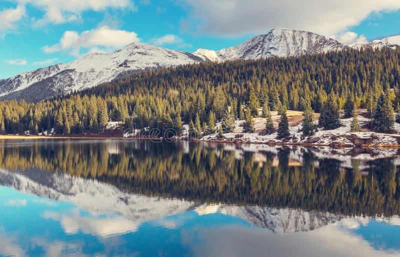 βουνά του Κολοράντο στοκ εικόνες